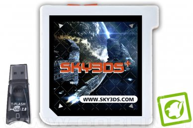 Sky3DS+ Plus Orange za Nintendo N3DS | 3DS | 2DS