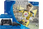 PlayStation 4 Slim 1000GB + FIFA 17 + 2x kontroler + bon 30€ (PS4 Slim 1TB)