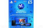 PlayStation Network Card 05 GBP (UK) za PS4 | PS3 | PS Vita