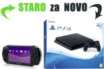 Staro za novo: Tvoj Sony PSP za PlayStation 4 Slim 500GB + bon 30€ (PS4)