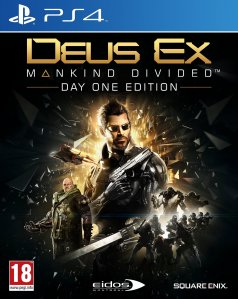 Deus Ex Mankind Divided Day One Edition (PlayStation 4)