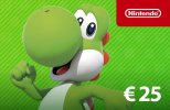 Nintendo eShop Card 25 EUR (EU) Switch | Wii U | 3DS | 2DS