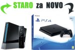 Staro za novo: Tvoj Nintendo Wii za PlayStation 4 Slim 500GB + bon 30€ (PS4)