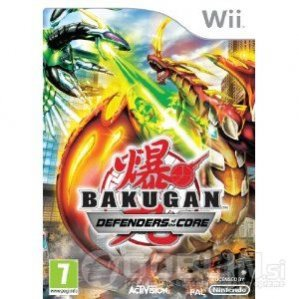 Rabljeno: Bakugan Defenders of the Core (Nintendo Wii)