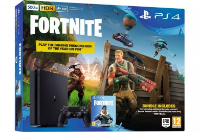 PlayStation 4 Slim 500GB HDR VR Ready + Fortnite Battle Royale + bon 30€ (PS4 Slim)