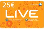 Xbox Live Gift Card 25 EUR (EU) za Xbox 360 | Xbox One | PC
