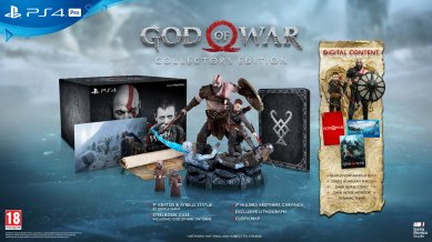 God of War: Collectors Edition (Playstation 4)