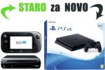 Staro za novo: Tvoj Nintendo Wii U za PlayStation 4 Slim 500GB + bon 30€ (PS4)