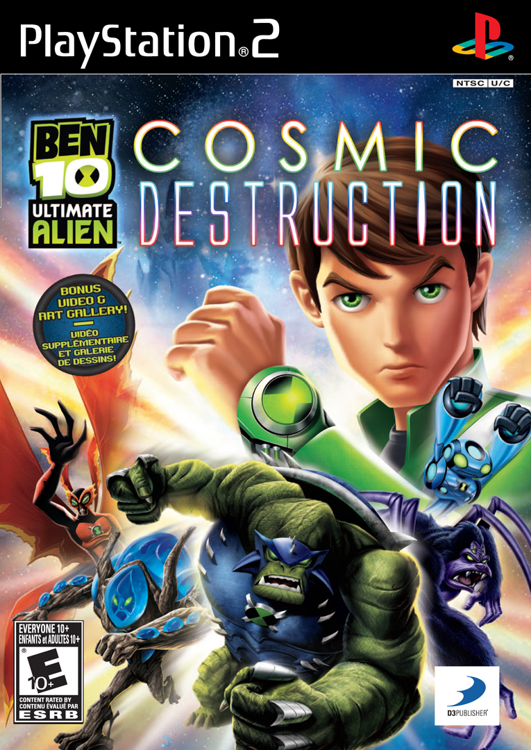 Cgr undertow ben 10: protector of earth review for playstation 2.