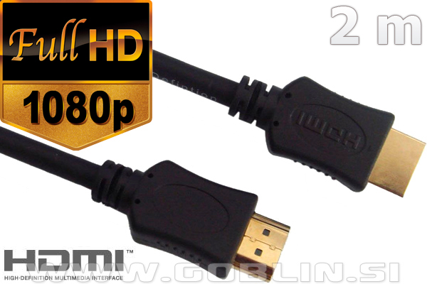 HDMI 1.3 kabel Eaxus 1080p, 1.5m