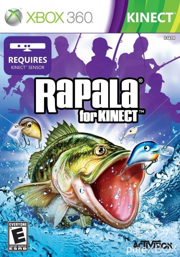 Rapala for kinect microsoft xbox 360 video games   ebay.