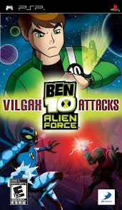 Rabljeno: Ben 10 Alien Force (Sony PSP)