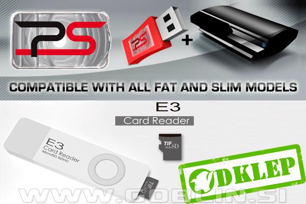 PS3 3 41 USB čip E3 2nd Generation PS3 odklep | Sony PlayStation 3